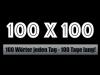 100 x 100: Die Challenge für alle Schreibanfänger