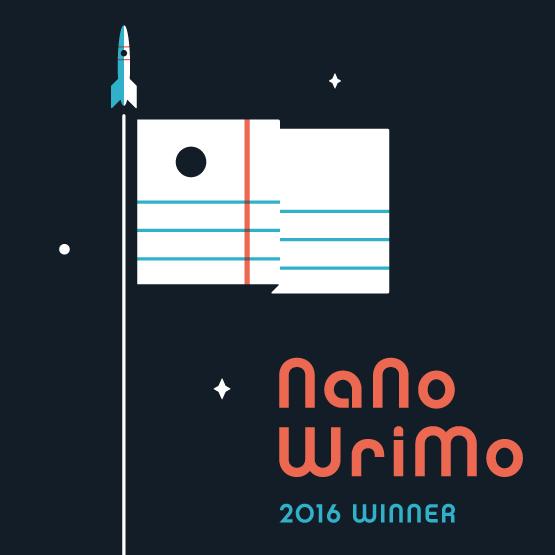 Nanowrimo Siegesflagge